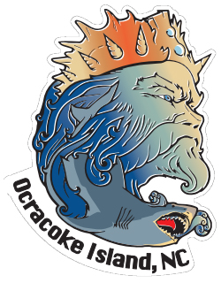 KSL Triton Sticker - Ocracoke Island, NC