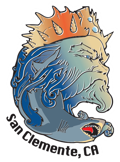 KSL Triton Sticker - San Clemente, CA